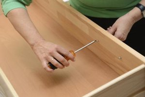 Use hardwood or plywood to build drawers.