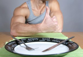 Dietary protein is important for building muscle mass.