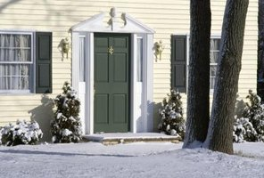 Large gaps in the front door can make your home less energy efficient.