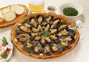 Mussels are an elegant addition to any backyard BBQ.