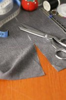 Removing sleeves from a t-shirt does not require sewing.