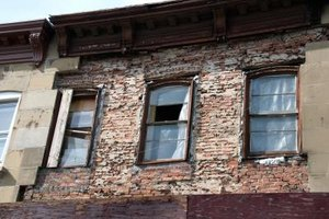 Structures suffering from heavy brick delamination cannot be fixed easily and are often torn down.
