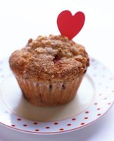Unsweetened applesauce makes muffins sweeter and moister than oil.