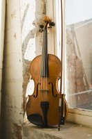 The bow and violin