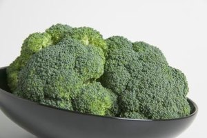 Cook broccoli for just a short duration to prevent discoloration.