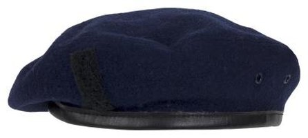Berets have historically been worn by military personnel.