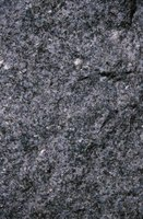 Granite combines sparkly crystals with granular patterns for visual appeal.