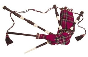 You can make bagpipes from common household items.