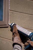 Caulking doesn't require backing when you use it as a sealant.