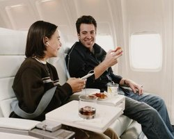 Full service airlines offer more perks than their low-cost competitors.