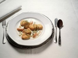 Scallops can be sauteed, deep-fried, baked or broiled.