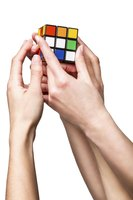 Rubik's Cube was a popular 1980s toy and game.