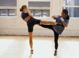 Kickboxing can teach you self-defense skills while improving your physical fitness.