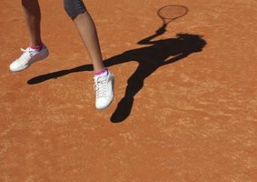 Fast feet can help you on the tennis court.