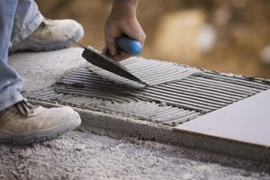 Masonry projects require specialized knowledge of building materials.