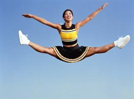 Cheerleading is good for your health and spirit.