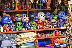 Mexican markets offer a variety of affordable arts and crafts.
