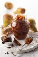 Choose spices like ginger and cinnamon for pear relish that's perfect on roast chicken.