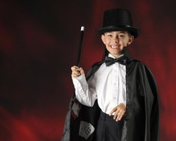 Use a homemade top hat for an impromptu magic show.