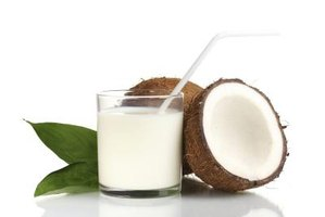 Watch portions because coconut milk is high in calories.