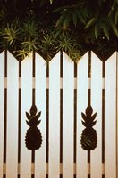 Build a unique garden fence according to your own custom plans.
