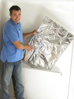 Aluminum foil is a low-cost and effective drip catcher.