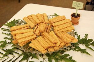 Southern cheese straws are a buttery little taste of heaven.