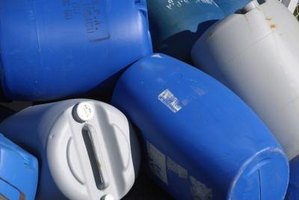 Rain water barrels can be used for many household tasks.