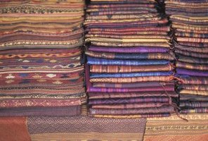 Matka silk may be woven into different textures.