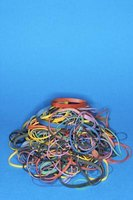 Packages of rubber bands allow you to create numerous rubber band bracelets.