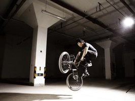 BMX riders are especially punishing to bicycle frames through tricks and aerial stunts.