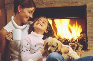 Protect your home from smoke damage with a homemade fireplace smoke guard.