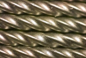 Steel is hardened and tempered to a degree specific for its use.