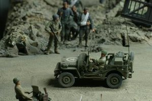 The best diorama ideas re-create a historical event or tell a story.