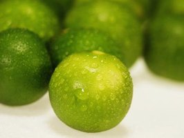 Healthy key limes come from pest-free trees.