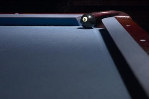 How to Replace a Leather Pocket in a Pool Table
