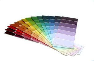 Sample different paint colors before making a final decision.