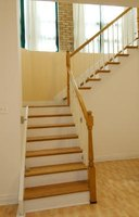 Install pine stair treads for added warmth and charm.