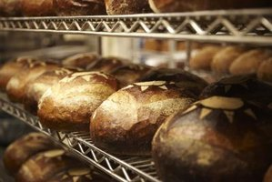 Fresh bread can soon become moldy without the use of preservatives.