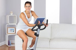 Stationary bike riding can be performed indoors, year-round.