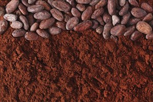 Natural cocoa powder tends to be lighter in color.