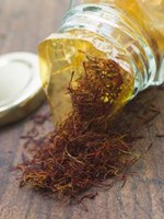 Saffron, the dried stigma of the crocus flower, is the world's most expensive spice.