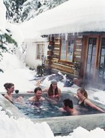 A properly maintained hot tub is a year-round pleasure.