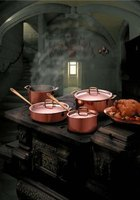 Copper was one of the first metals used in making cookware.