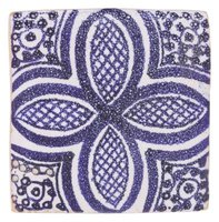 You can find plain or intricately decorated ceramic tiles.