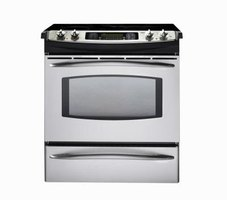 Stainless steel appliances may get scratches with use.