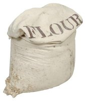 Storing flour in Mylar bags prevents oxidization and extends shelf life.