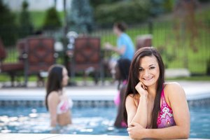 Hosting a pool party can be a fun and relaxing experience.