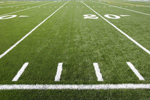 Canadian football fields are longer and wider than U.S. ones.