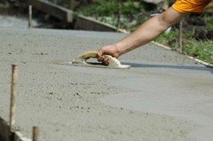 how to build a concrete pad